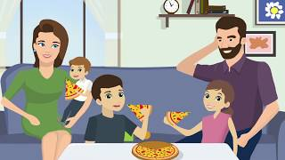 Food to you - Animated explainer video (Hebrew)