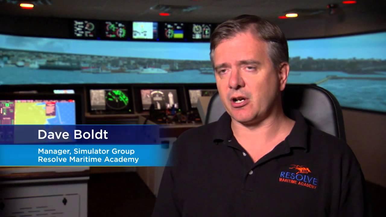 Training for Safe Navigation: Royal Caribbean and Resolve Marine Academy