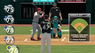 MLB 2K11 PC Gameplay (Marlins VS Phillies) Max Settings