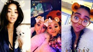 Shay Mitchell   Snapchat Story   11 December 2017