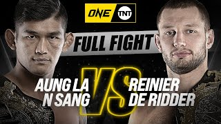 Aung La N Sang vs. Reinier De Ridder II | ONE Championship Full Fight