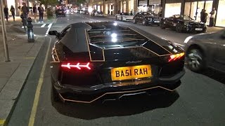 NOISY TRON Lamborghini Aventador LP700-4 in London