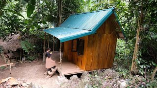 How to build a cabin, BuiĮding a Log Cabin in the Wilderness | 2022 Model cabin - Ep.8