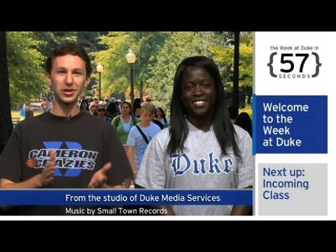 The Week at Duke {in 60 Seconds}: Gen. Petraeus, Class of 2017; Changing Campus