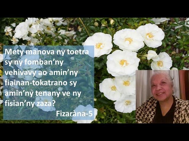 VEHIVAVY MATAHOTRA AN'I JEHOVAH FRANCE- METY MANOVA-5