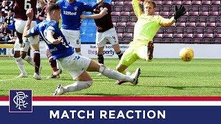 REACTION | Nikola Katic | Hearts 1-3 Rangers
