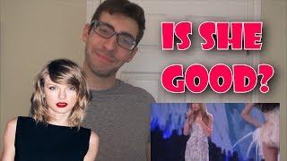 Taylor Swift LIVE VOICE (NO AUTOTUNE) Reaction!!