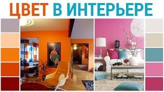 Школа дизайна: Цвет в интерьере. Уроки дизайна интерьера