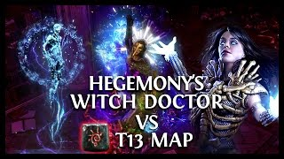 Path of Exile Ascendancy: Witch Doctor vs T13 Enfeeble + Beyond + Immune to Ailment Gameplay!