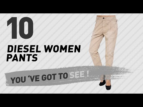Diesel Women Pants // New & Popular 2017
