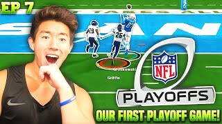 OUR FIRST PLAYOFF GAME! NO MONEY SPENT EP.7! Madden 21