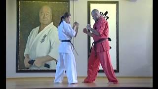 12 уроков с Леной Воробьевой.12 lessons kyokushinkai Elena Vorobyova