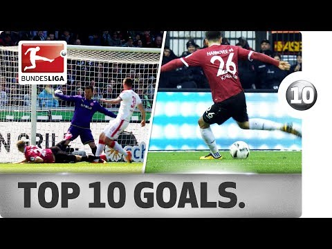 Top 10 Hannover Goals - From Their 2016/17 Promotion Campaign