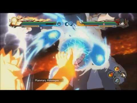 Naruto Shippuden Ultimate Ninja Storm Revolution - All Rasengan Jutsu