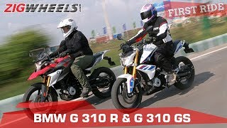 BMW G 310 R and G 310 GS | First Ride Review | ZigWheels.com