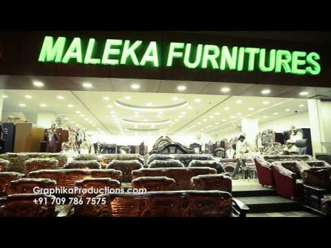 Maleka Furniture Hyderabad | Commercial Ad | By Graphika Pro