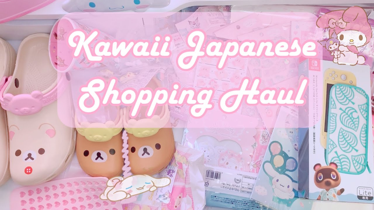 Download Kawaii Japanese Shopping Haul