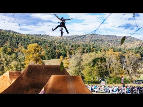 The Ultimate BMX Dirt Jump Contest - Red Bull Dreamline 2014