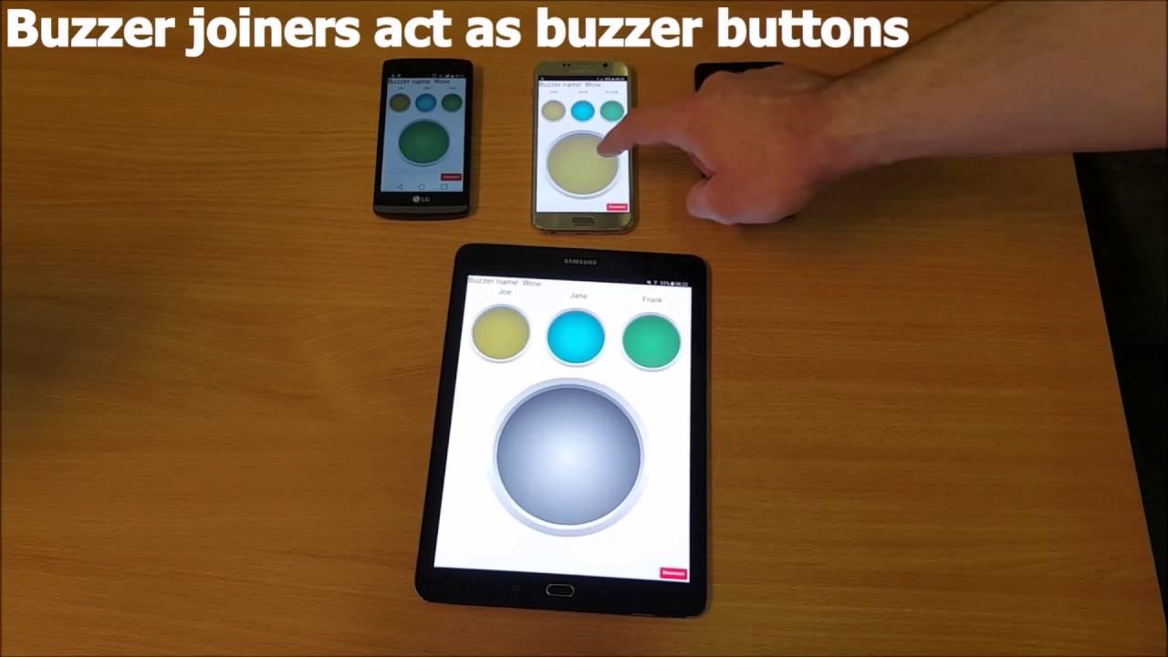multiplayer buzzer app