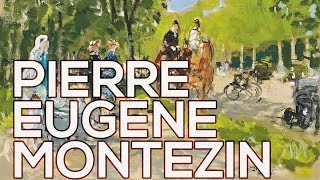 Pierre Eugene Montezin: A collection of 275 paintings (HD)