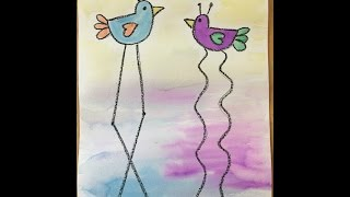Salvador Dali Inspired Birds - RSE Art Appreciation