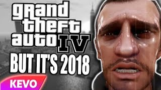 GTA IV but it's 2018