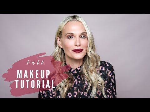 Cozy Fall Makeup Tutorial | Molly Sims thumbnail