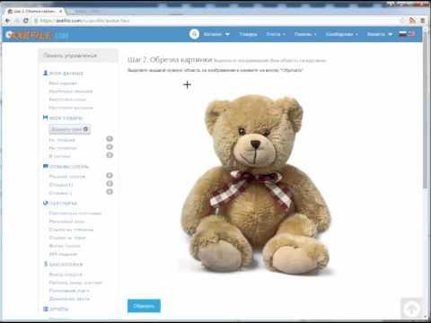 Как установить аватар (картинку продавца) на сайте Axefile.com?