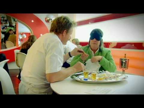 Kathy Burke taste test on the F Word - Gordon Ramsay