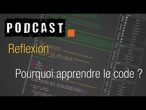 Blenderlounge - Podcast - Pourquoi apprendre le code ? (fix)