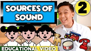English 2: Classifying Sounds Heard (Educational Video)