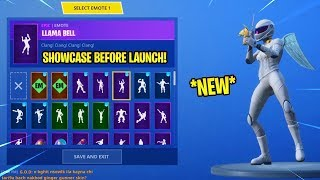 *NEW* WHITEOUT SKIN with 85+ EMOTES! - Fortnite