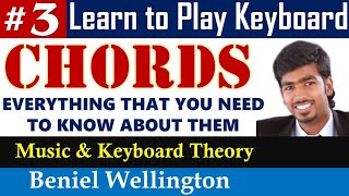 Keyboard Chords Tamil | How to play Tamil Christian Songs in Keyboard