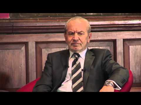 Lord Alan Sugar - Full Q&A