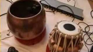 Tabla - How i fitted internal microphones into my drums -  Part 1 - John J Millar