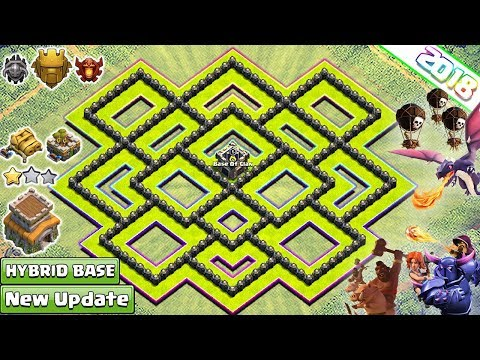 New Town Hall 8 (TH8) Farming/Trophy Base 2018! Best Th8 Base Design [DEFENSE] - Clash of Clans 2018