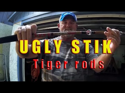"""Shakespeare Ugly Stik Review; Capt Dave talks """"Tiger rods"""" from YouTube · High Definition · Duration:  16 minutes 35 seconds  · 79,000+ views · uploaded on 10/6/2014 · uploaded by Capt Daves Sportfishing Charters"""