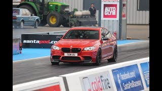 BMW M5 F10 - Trying to get a 10second car