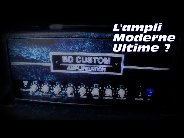 BD Custom Amplification : Petit Mais Costaud