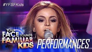 Your Face Sounds Familiar Kids: Xia Vigor as Jennifer Lopez - Let's Get Loud