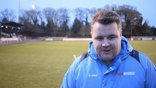 09/02/2019 | Hampton & Richmond 1-1 Slough Town: Manager Interview: Neil Baker