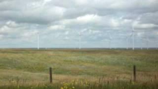 Wind Farm outside Cheyenne Wyoming