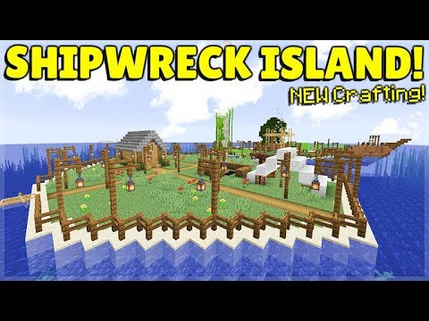 Minecraft 114 Shipwreck Survival Island New Globe