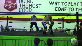 IPW-James Reeves vs Jeremy Hadley at Insanity Pro Wrestling on 3-5-2011