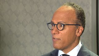 Interview with Lester Holt during Across America Tour stop in Alabama