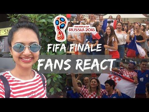 Watching FIFA 2018 Finale   How football fans in Germany react   France vs Croatia