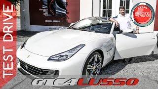 Ferrari GTC4 Lusso Test Drive | Alfonso Rizzo prova