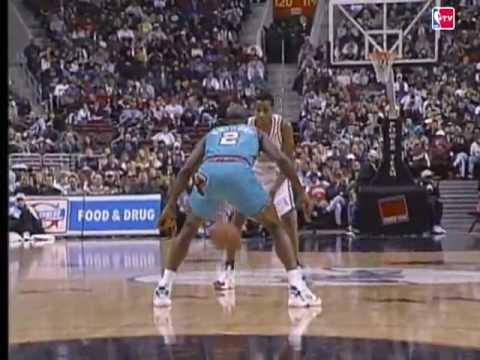 Allen Iverson Rookie Year 1996-1997 NBA Highlight NBA TV *Crossover Slam Dunk Alleyoop