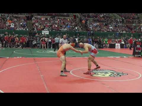 220 lbs sf Max Fausnaugh, Bowling Green vs Kole Aubiel, Claymont