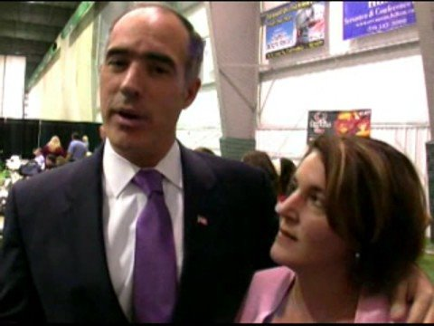 Senator Bob Casey, Jr. and Terese Casey